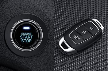 Push-button start / Smart key
