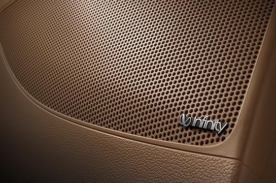 Azera Infinity sound system
