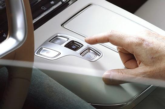 Azera Shift-by-wire automatic transmission