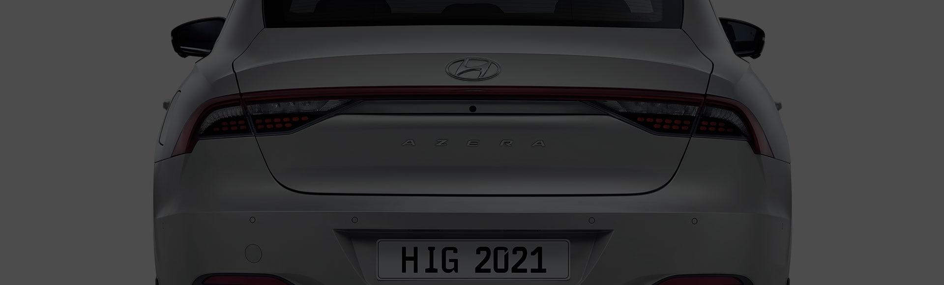 Azera exterior rear design