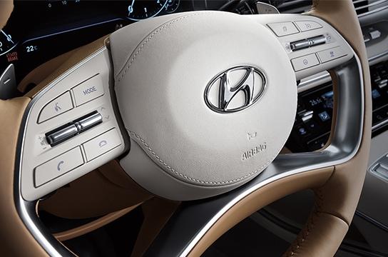 Azera Wrapped steering wheel