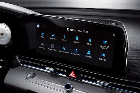 """10.25"""" navigation display"""