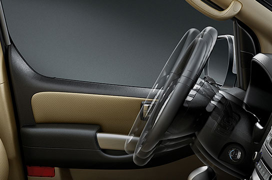 Manual tilt & telescopic steering wheel