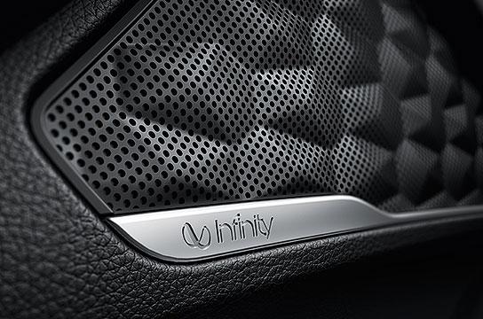 Infinity™ speakers