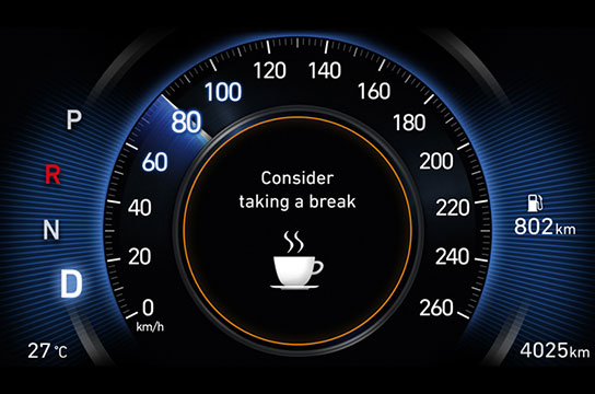Driver Attention Warning (DAW)