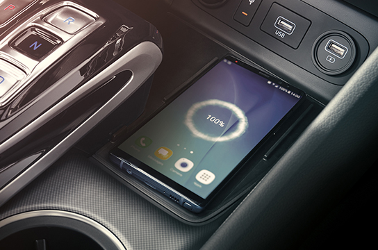 Sonata wireless smartphone charging system