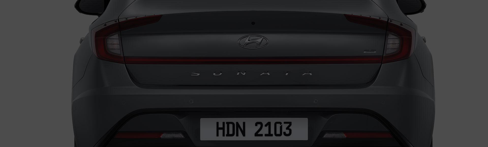 Sonata exterior rear design